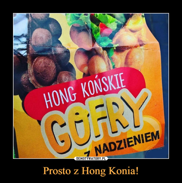 Prosto z Hong Konia! –  HONG KOŃSKIE GOFRY Z NADZIENIEM