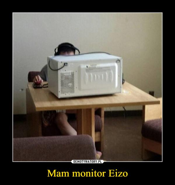 Mam monitor Eizo –