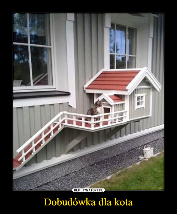 Dobudówka dla kota –