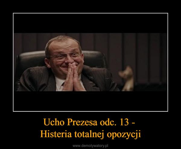 Ucho Prezesa odc. 13 - Histeria totalnej opozycji –