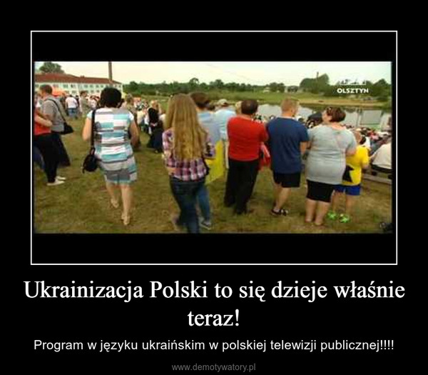 Ukrainizacja Polski to się dzieje właśnie teraz! – Program w języku ukraińskim w polskiej telewizji publicznej!!!!