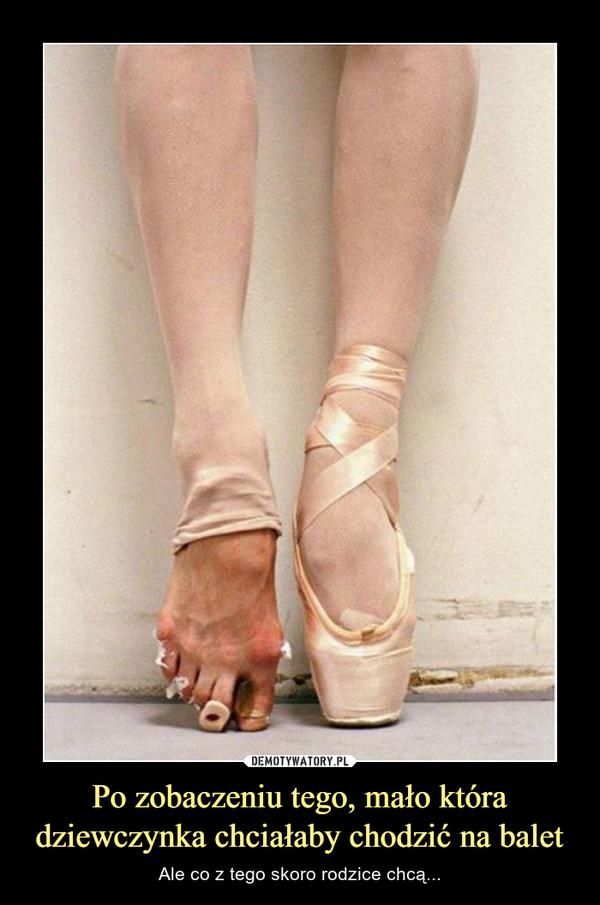Po zobaczeniu tego, mało która dziewczynka chciałaby chodzić na balet – Ale co z tego skoro rodzice chcą...