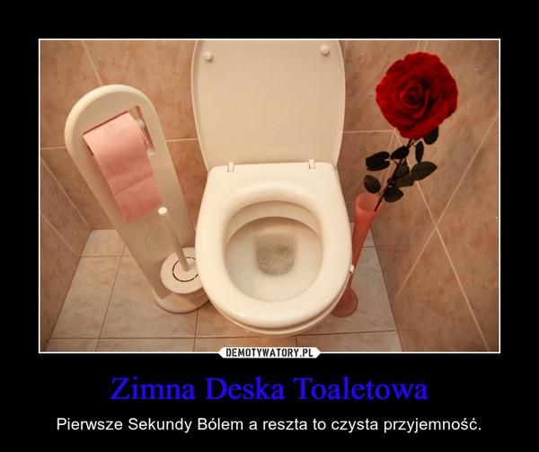 Zimna Deska Toaletowa – Pierwsze Sekundy Bólem a reszta to czysta przyjemność.