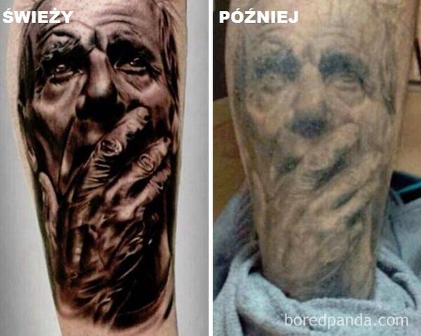 14 Zdjęć Tatuaży Wykonanych Zaraz Po Ich Zrobieniu I Po Upływie