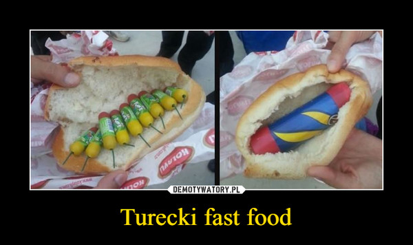 Turecki fast food –