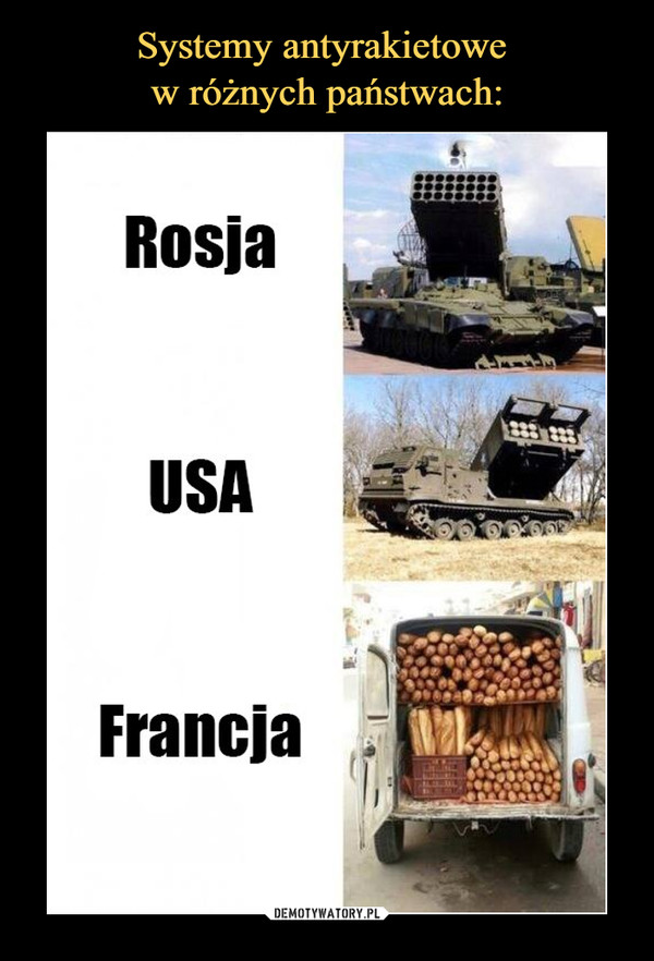 –  rosja usa francja