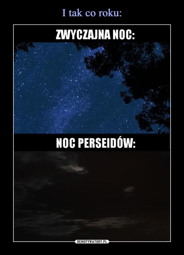 –  Zwyczajna noc Noc perseidów