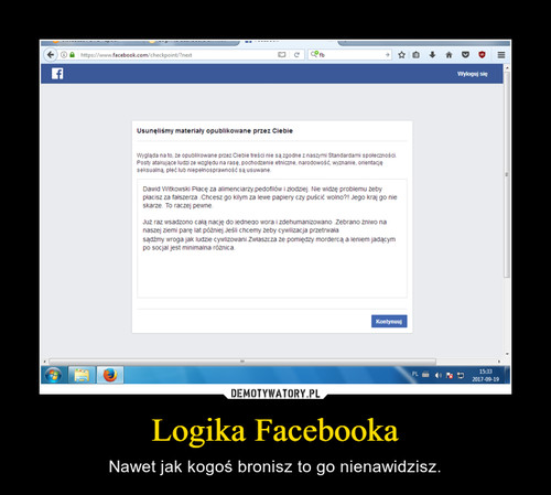 Logika Facebooka