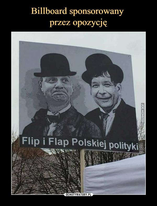–  Flip i Flap polskiej polityki