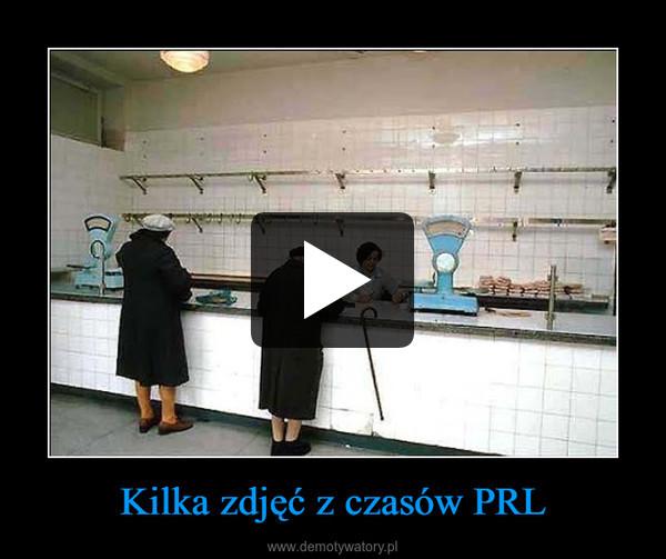 Kilka zdjęć z czasów PRL –