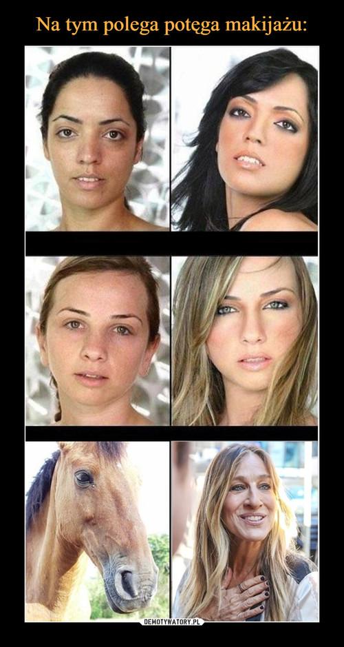 Na tym polega potęga makijażu: