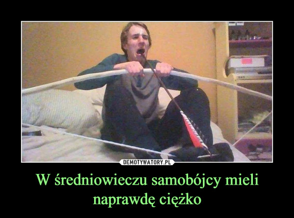 W średniowieczu samobójcy mieli naprawdę ciężko –