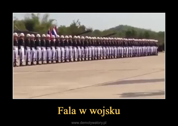 Fala w wojsku –