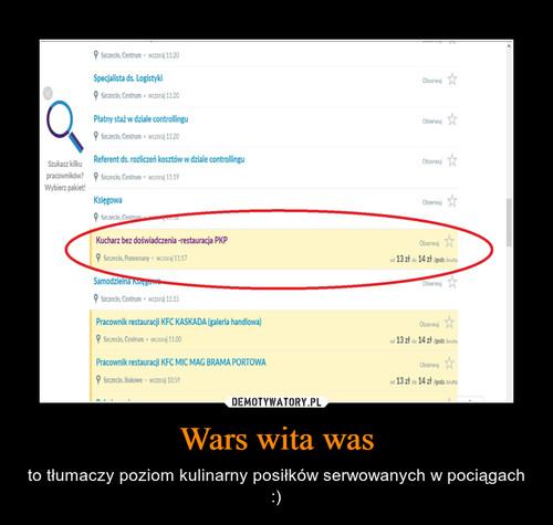 Wars wita was