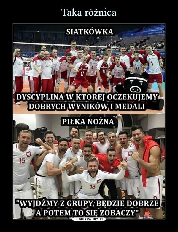 –  Siatkówka Dyscyplina w której oczekujemy dobrych wyników i medali Piłka nożna wyjdźmy z grupy, będzie dobrze a potem to się zobaczy