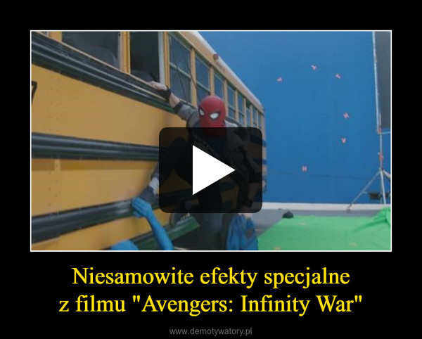 """Niesamowite efekty specjalnez filmu """"Avengers: Infinity War"""" –"""
