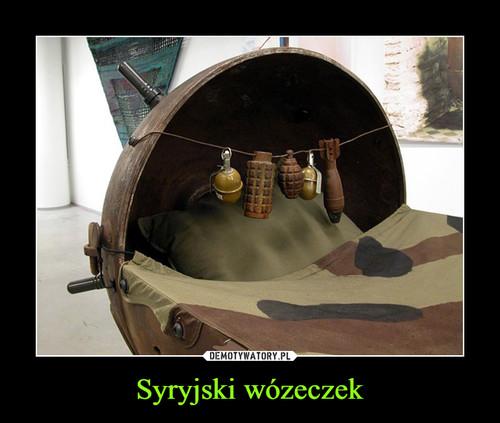 Syryjski wózeczek