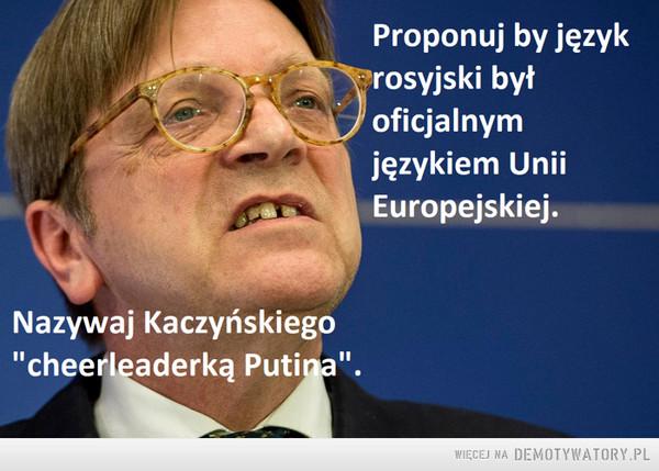 Guy Verhofstadt –