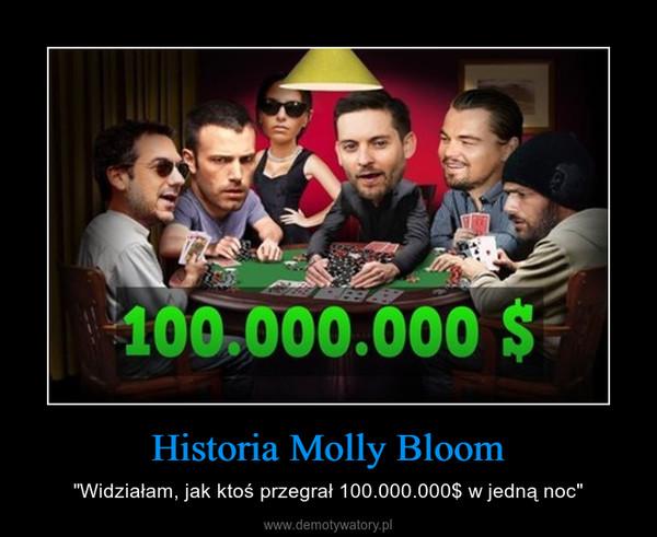 """Historia Molly Bloom – """"Widziałam, jak ktoś przegrał 100.000.000$ w jedną noc"""""""