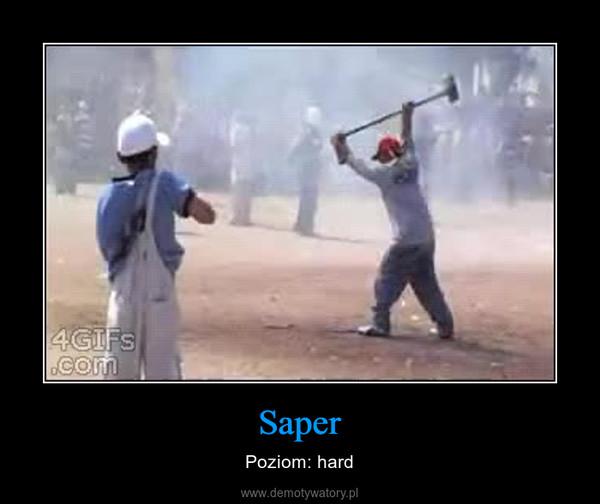 Saper – Poziom: hard