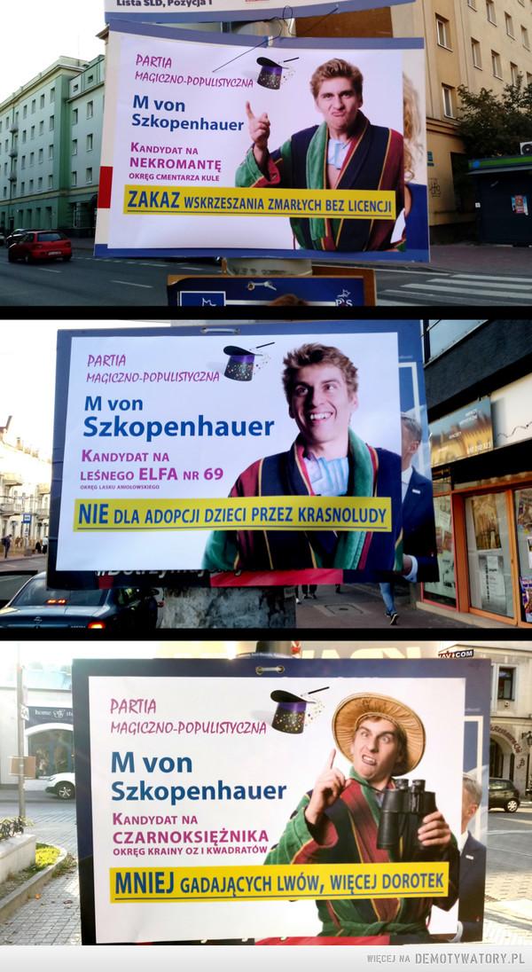 Wybory w Częstochowie... – ... i coraz ciekawsze obietnice.