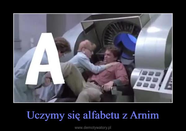 Uczymy się alfabetu z Arnim –
