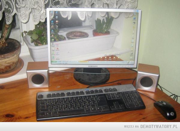 Gdy komputer w oknie... –