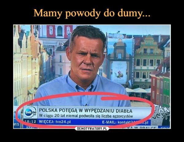 –  POLSKA POTĘGĄ W WYPĘDZANIU DIABŁA W ciągu 20 lat niemal podwoiła się liczba egzorcystów