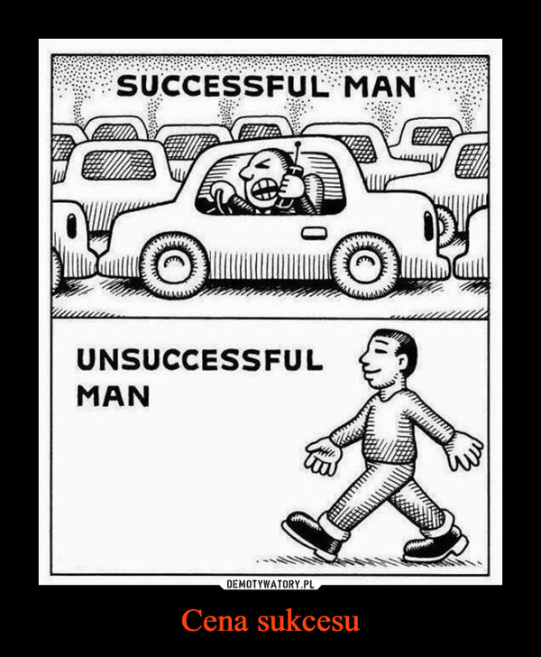 Cena sukcesu –  SUCCESSFUL MANUNSUCCESSFUL MAN