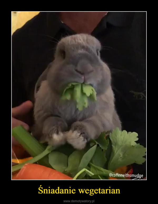 Śniadanie wegetarian –