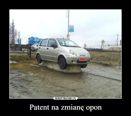 Patent na zmianę opon