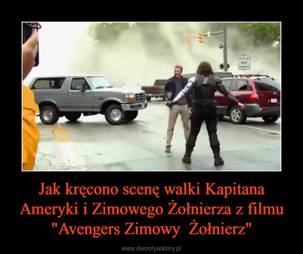 """Jak kręcono scenę walki Kapitana Ameryki i Zimowego Żołnierza z filmu """"Avengers Zimowy  Żołnierz"""" –"""