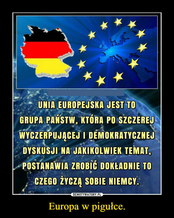 Europa w pigułce. –