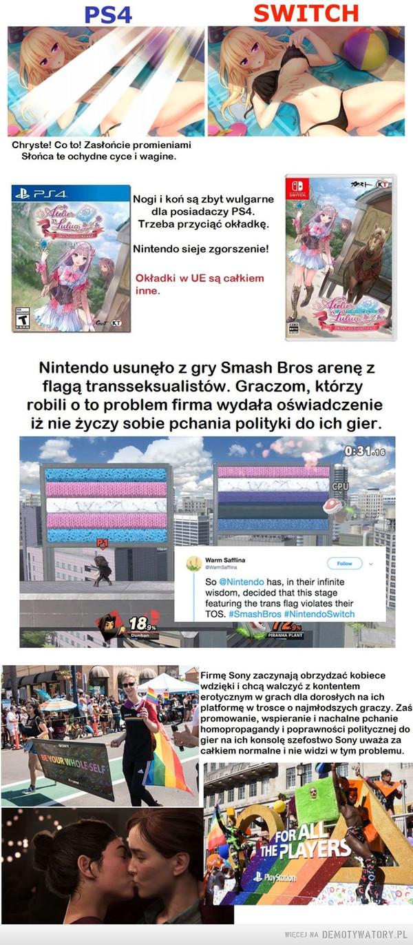 Sony vs Nintendo –
