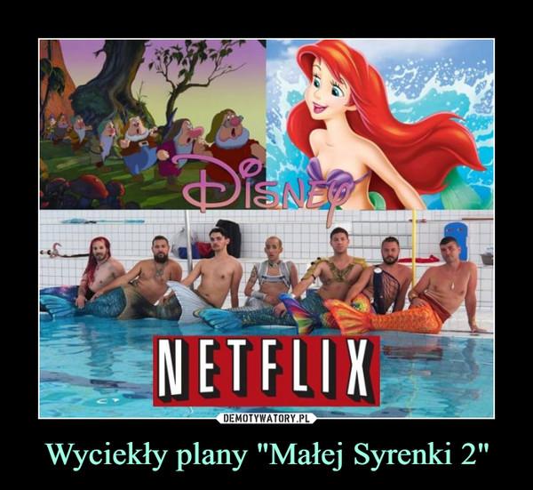 """Wyciekły plany """"Małej Syrenki 2"""" –  Disney Netflix"""