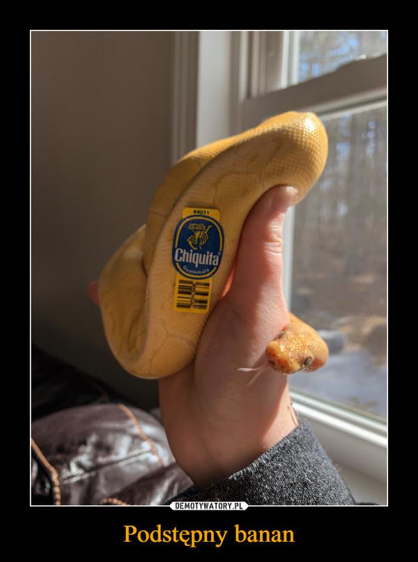 Podstępny banan –