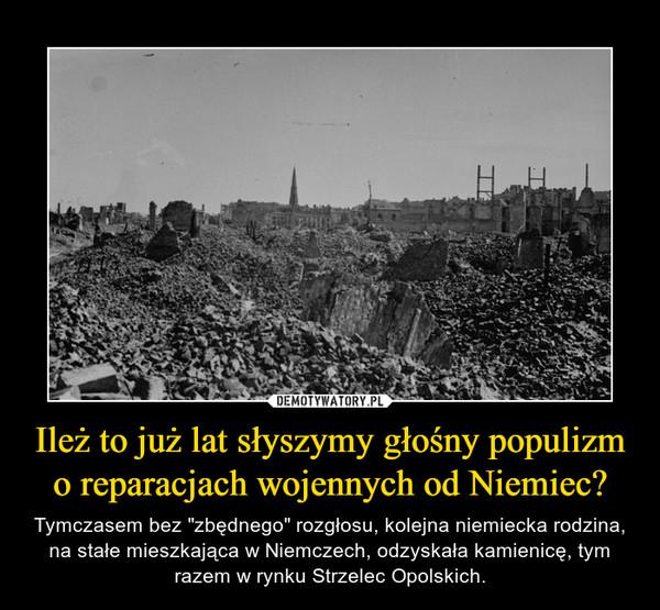 """Ileż to już lat słyszymy głośny populizm o reparacjach wojennych od Niemiec? – Tymczasem bez """"zbędnego"""" rozgłosu, kolejna niemiecka rodzina, na stałe mieszkająca w Niemczech, odzyskała kamienicę, tym razem w rynku Strzelec Opolskich."""