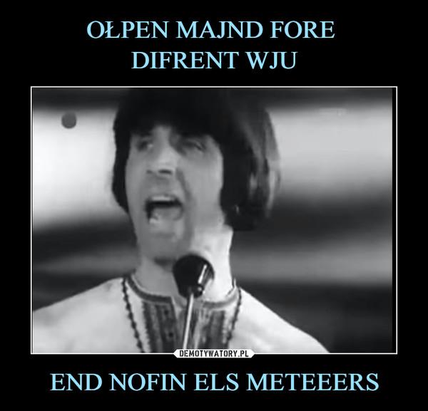 END NOFIN ELS METEEERS –