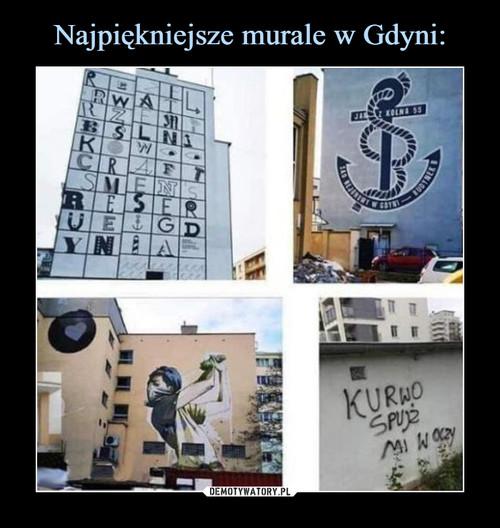 Najpiękniejsze murale w Gdyni: