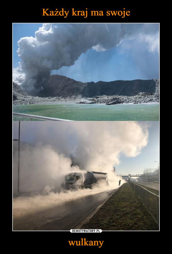 wulkany –