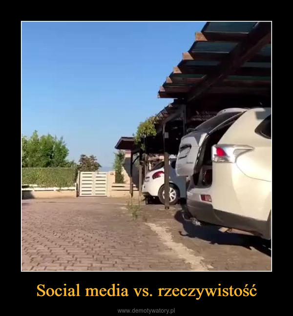 Social media vs. rzeczywistość –