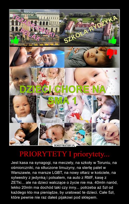 PRIORYTETY I priorytety...