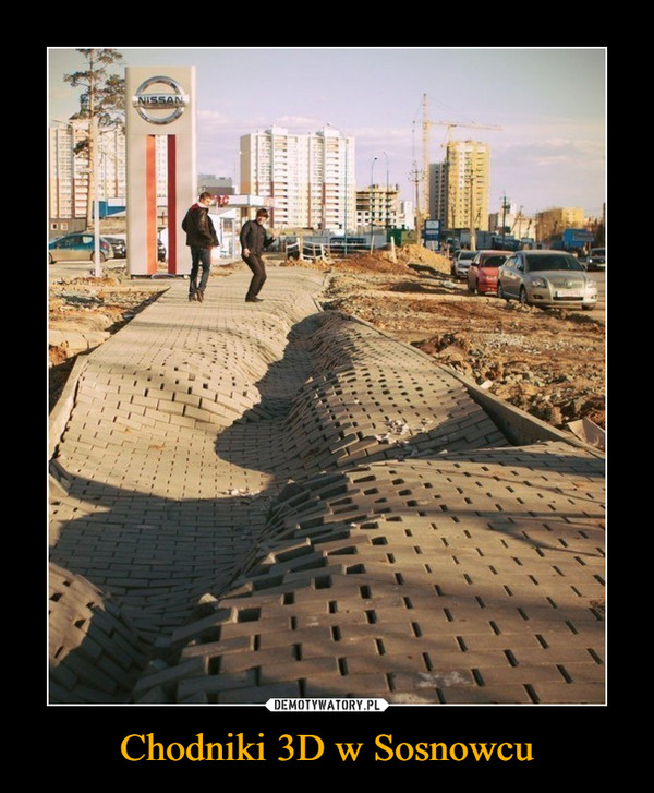 Chodniki 3D w Sosnowcu –