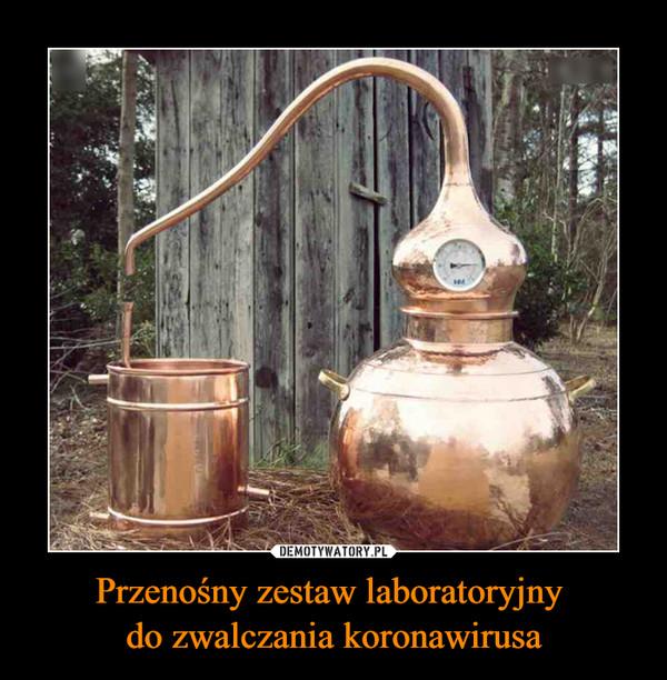 Przenośny zestaw laboratoryjny do zwalczania koronawirusa –