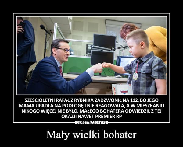 Mały wielki bohater –