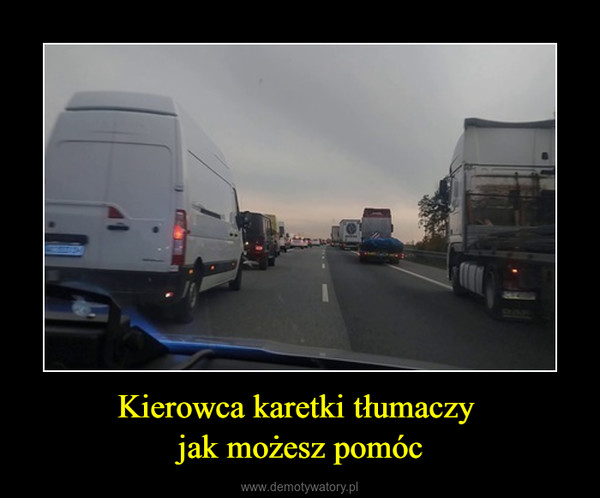 Kierowca karetki tłumaczy jak możesz pomóc –
