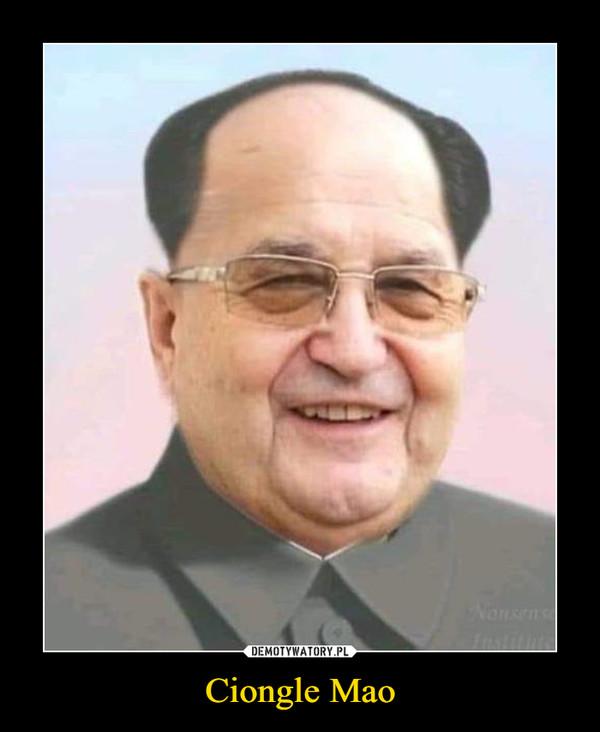 Ciongle Mao –