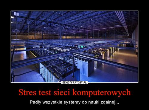 Stres test sieci komputerowych