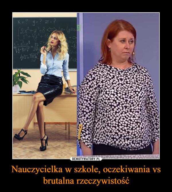 Nauczycielka w szkole, oczekiwania vs brutalna rzeczywistość –
