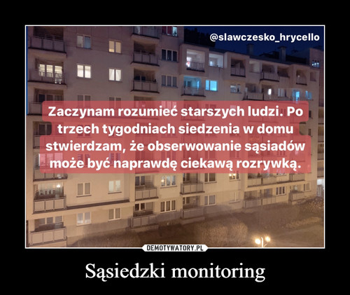 Sąsiedzki monitoring